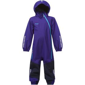 Bergans Lilletind Coverall Kids lavender/navy/br sea blue
